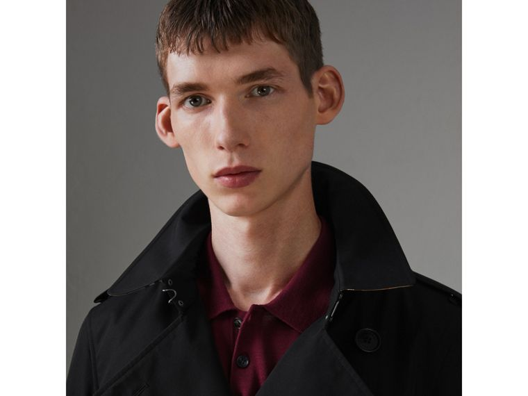 The Chelsea Heritage Trench Coat in Black - Men | Burberry Hong Kong - cell image 1