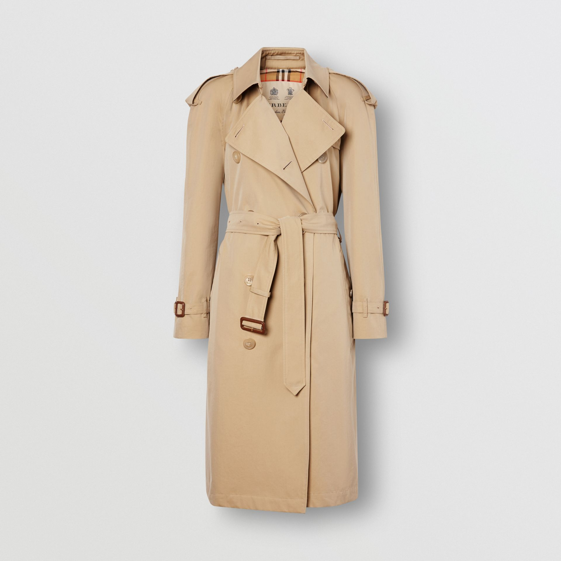 The Westminster Heritage Trench Coat in Honey - Women | Burberry United Kingdom - gallery image 8