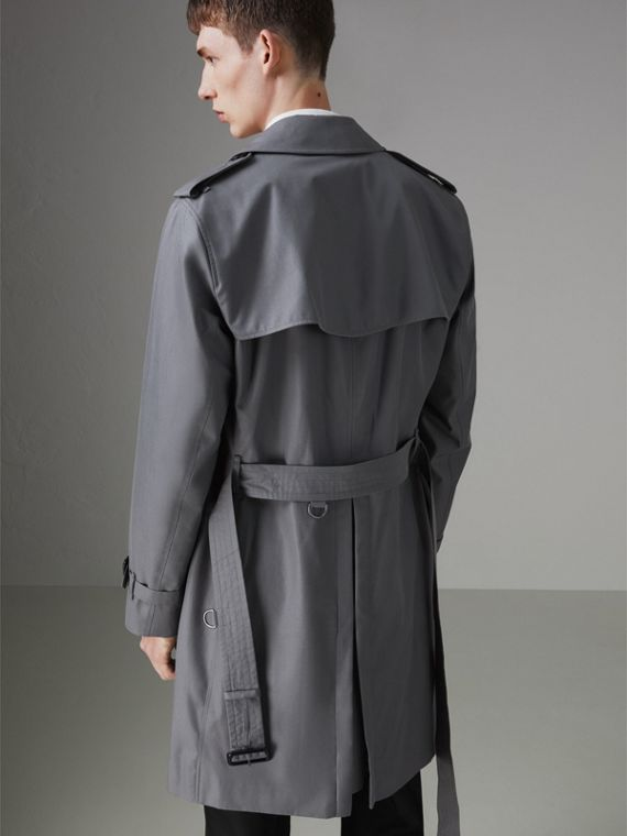 The Chelsea Heritage Trench Coat in Mid Grey - Men | Burberry - cell image 2