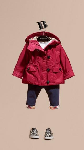 Veste repliable imperméable avec capuche