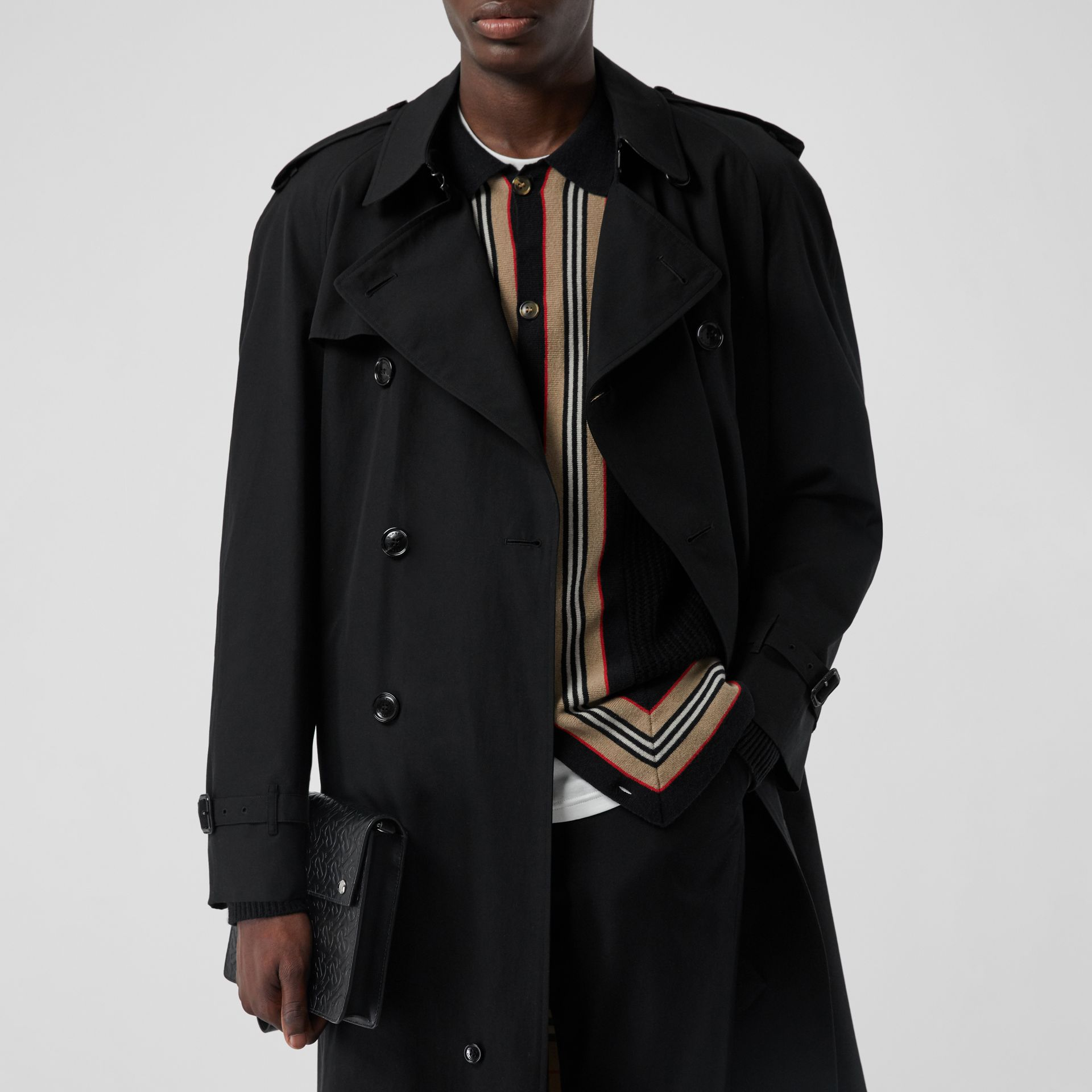 The Westminster Heritage Trench Coat in Black - Men | Burberry - gallery image 10