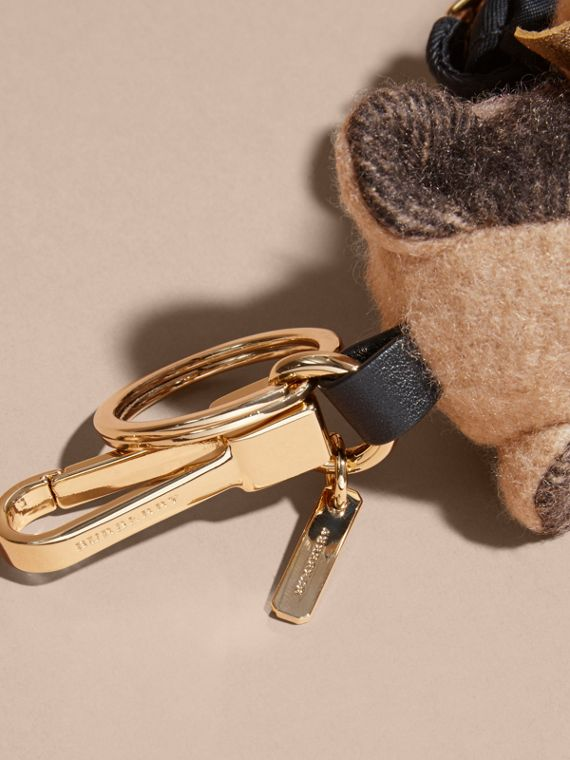 Thomas Bear Charm with Rucksack | Burberry Singapore - cell image 3