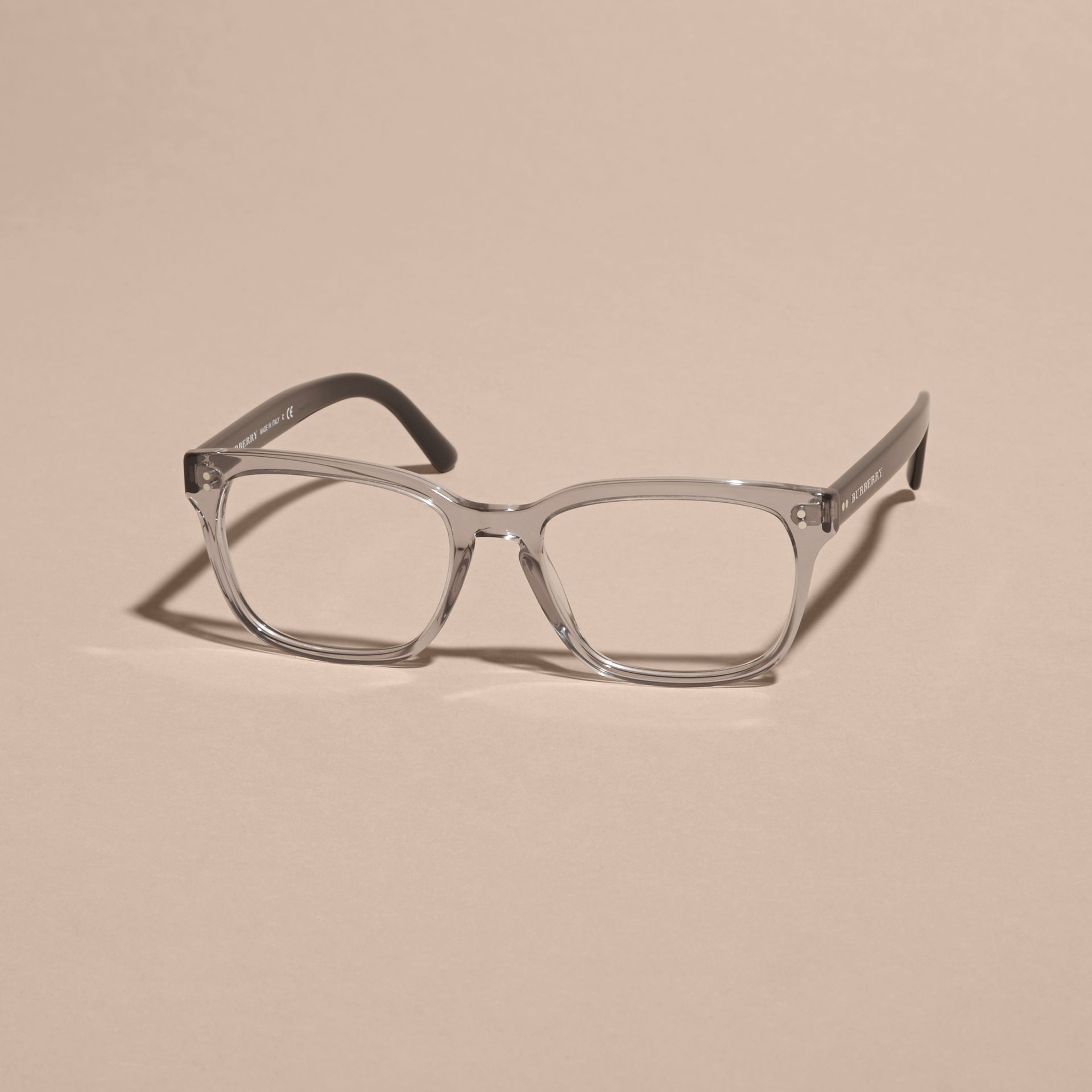Square Optical Frames Grey - gallery image 4