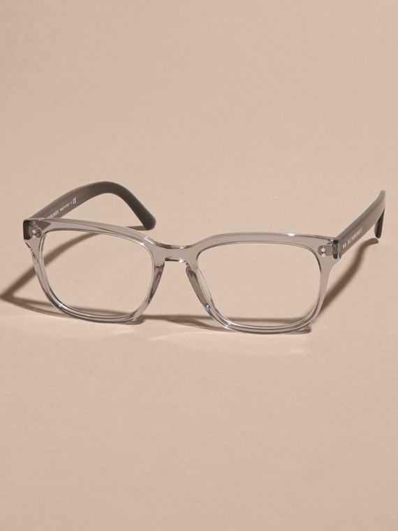 Square Optical Frames Grey - cell image 3