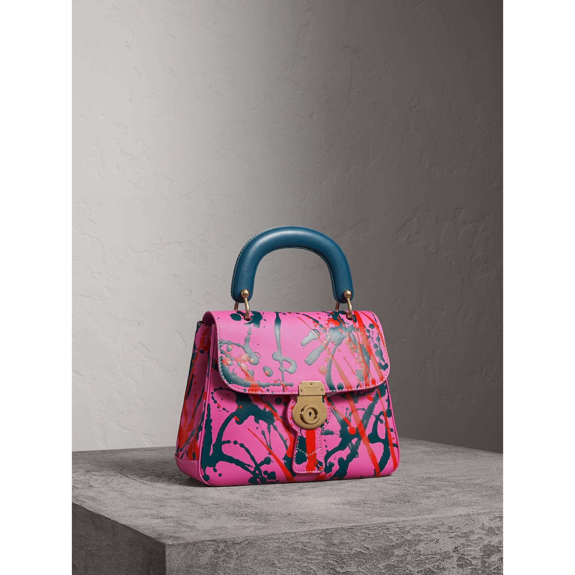 The Medium DK88 Splash Top Handle Bag in Rose Pink - Women | Burberry - gallery image 7