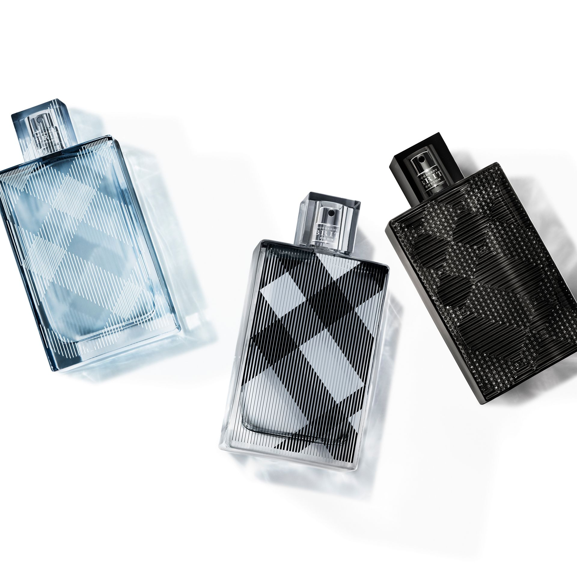 Burberry Brit Rhythm for Him Eau de Toilette Set in Black - Men | Burberry Singapore - gallery image 2