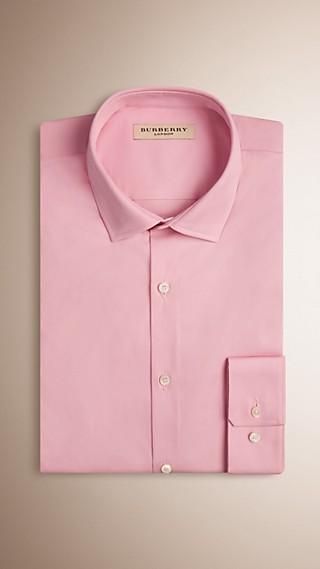 Modern Fit Stretch Cotton Shirt