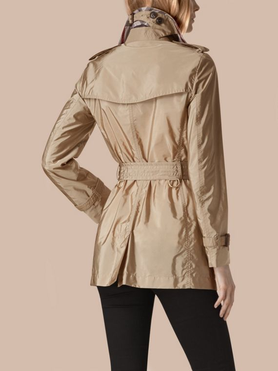 Lightweight Trench Coat Sisal - cell image 2