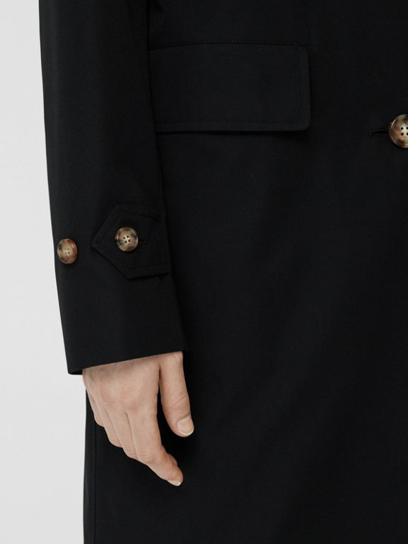 Cotton Gabardine Car Coat in Black - Women | Burberry - cell image 1