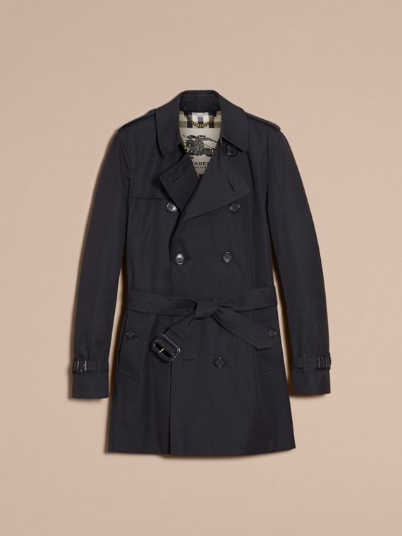 Azul marino Trench coat Kensington - Trench coat Heritage de longitud media Azul Marino - cell image 3