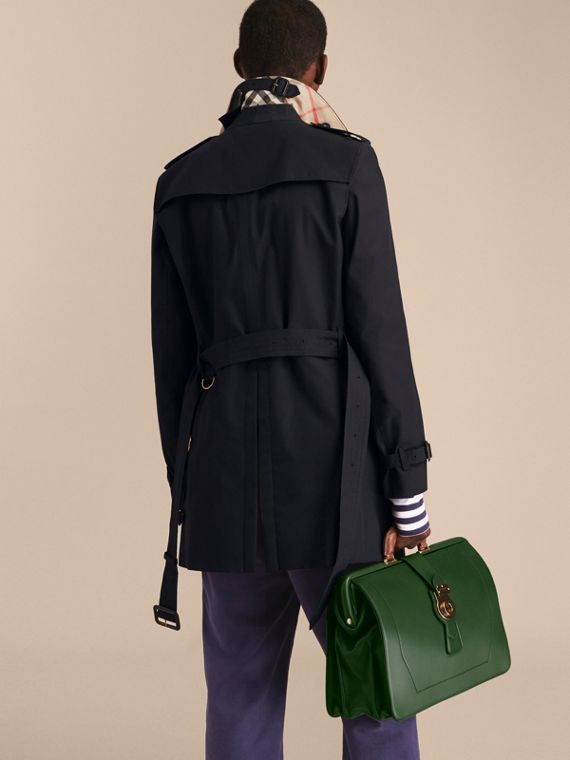 Navy The Chelsea – Mid-length Heritage Trench Coat Navy - cell image 3