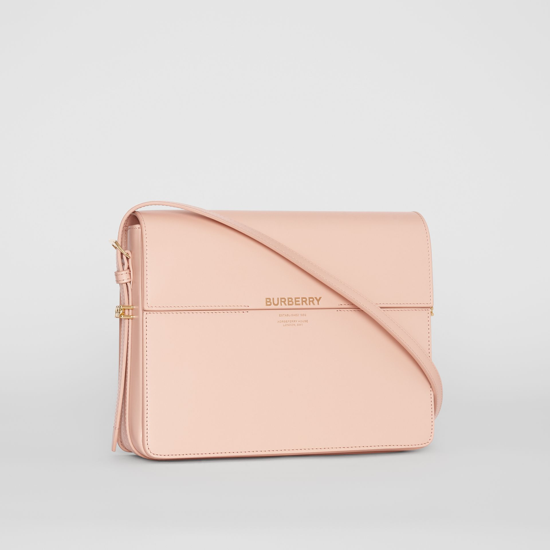 Large Leather Grace Bag in Soft Blush - Women | Burberry - gallery image 6