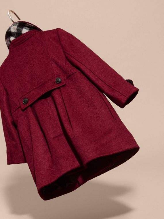 Cherry pink Tailored Cashmere Coat Cherry Pink - cell image 3
