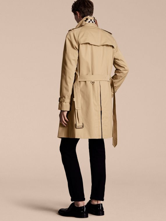 Honey The Wiltshire – Long Heritage Trench Coat Honey - cell image 2