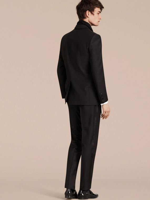 Modern Fit Wool Mohair Half-canvas Tuxedo - Men | Burberry - cell image 2