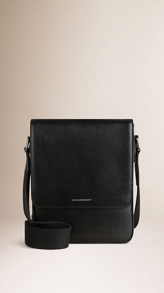 London Leather Crossbody Bag