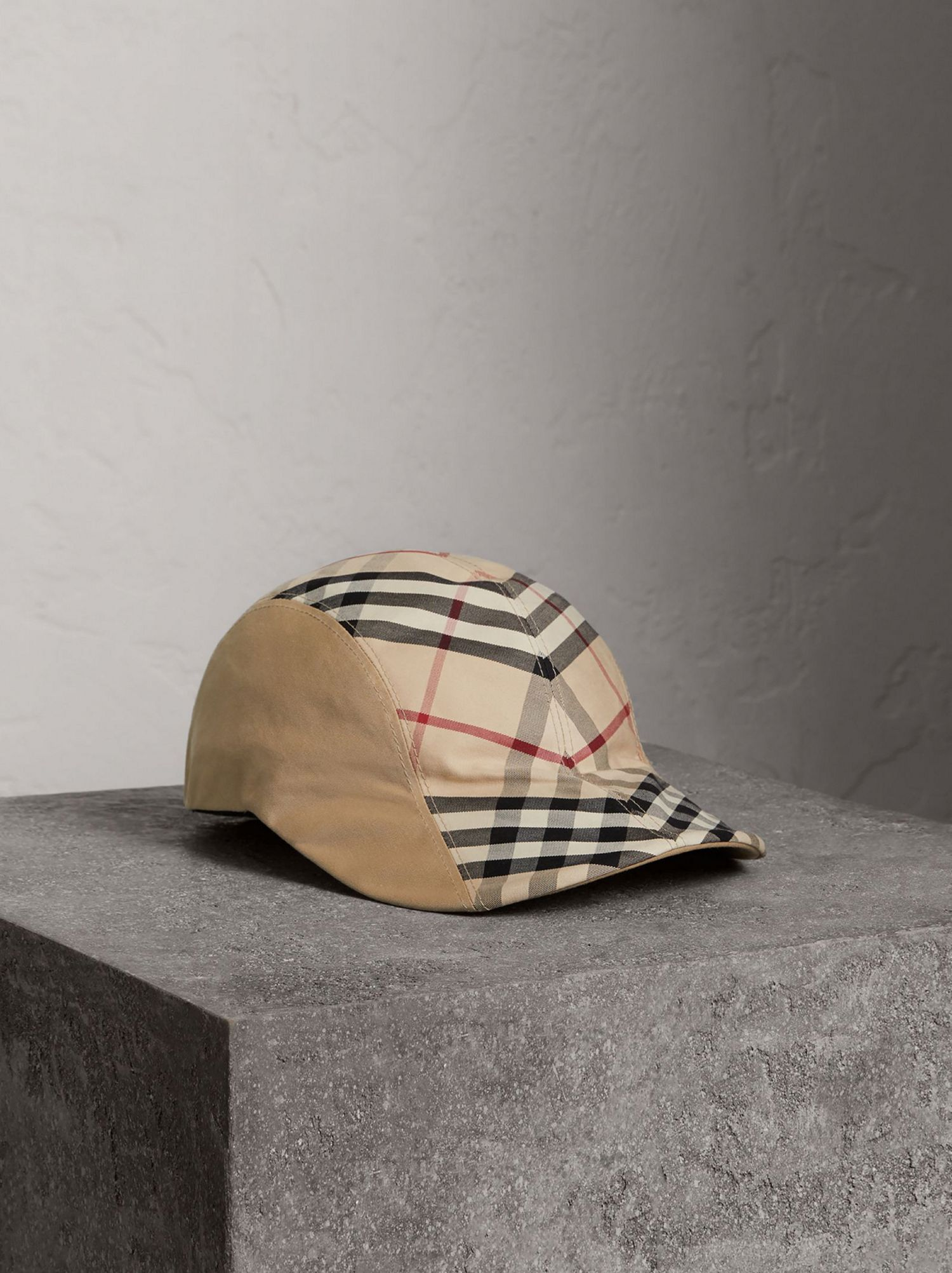 Gosha x Burberry Duckbill Cap in Honey
