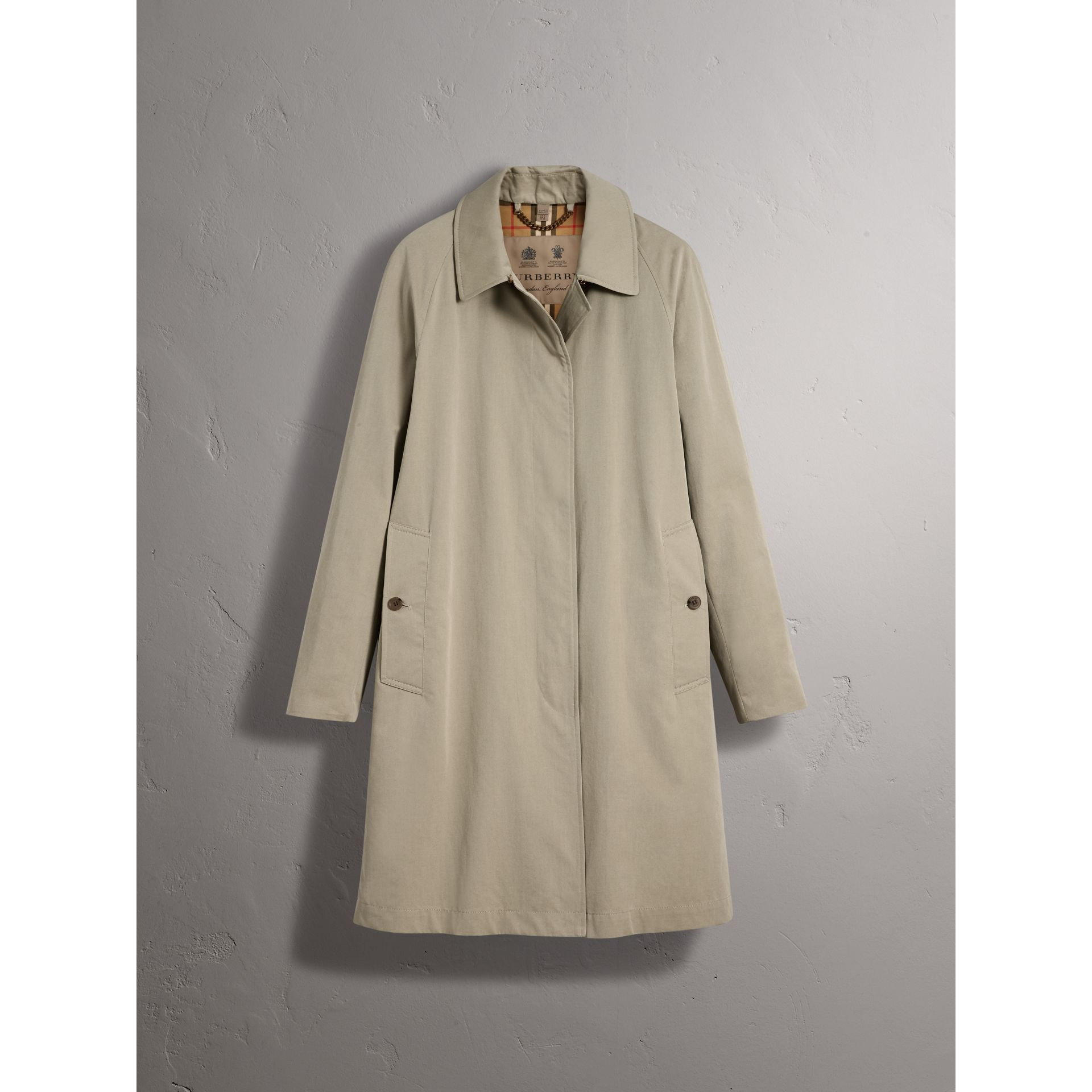 The Camden – Langer Car Coat (Sandsteinfarben) - Damen | Burberry - Galerie-Bild 4