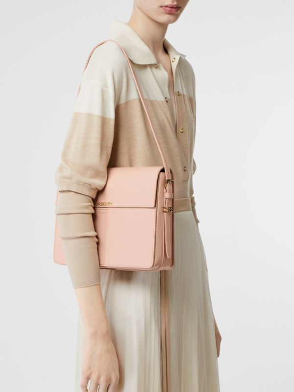 Large Leather Grace Bag in Soft Blush - Women | Burberry - cell image 2