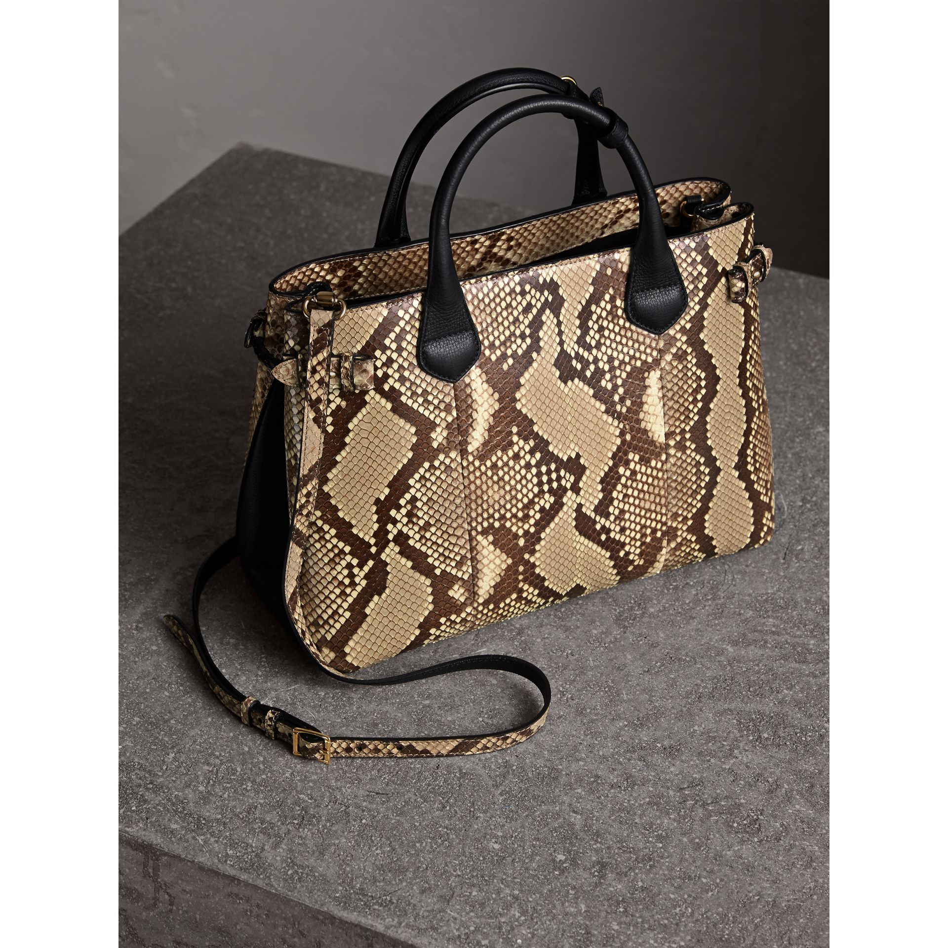 Sac The Banner medium en python - Femme | Burberry - photo de la galerie 5