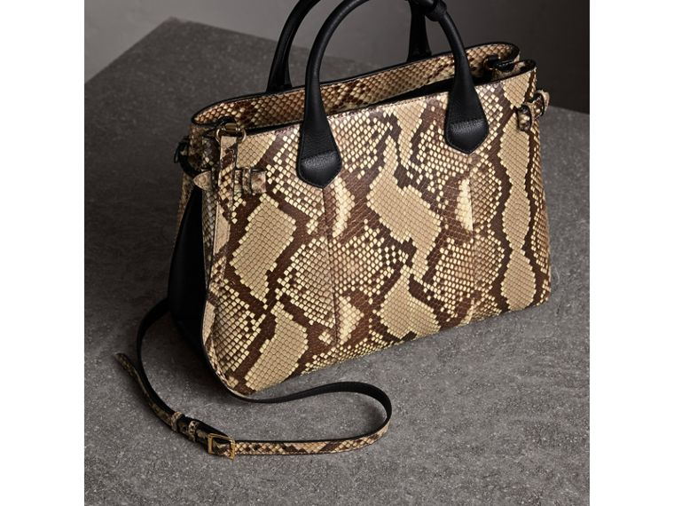 Sac The Banner medium en python - Femme | Burberry - cell image 4