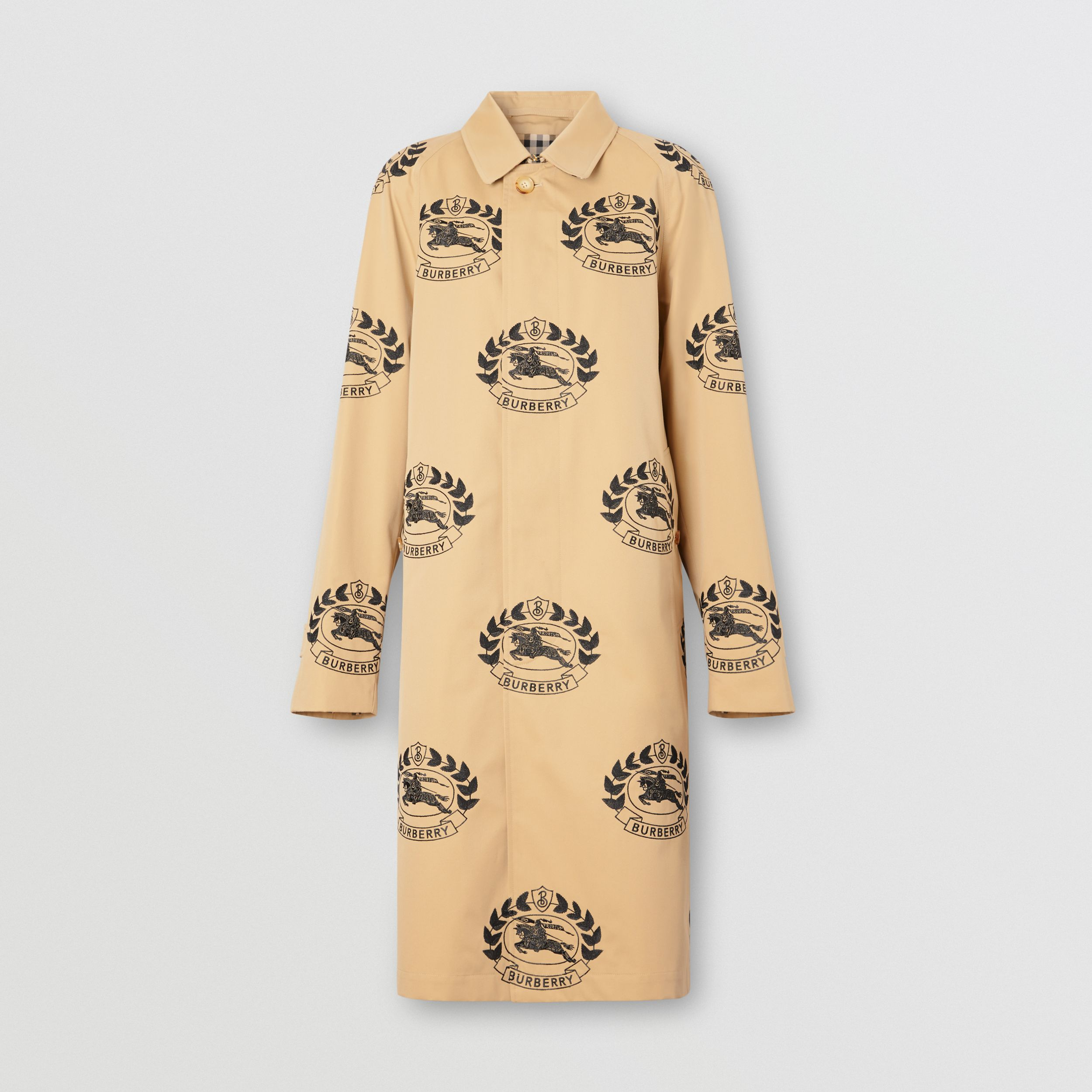 The Camden Car Coat in Honey | Burberry - 1