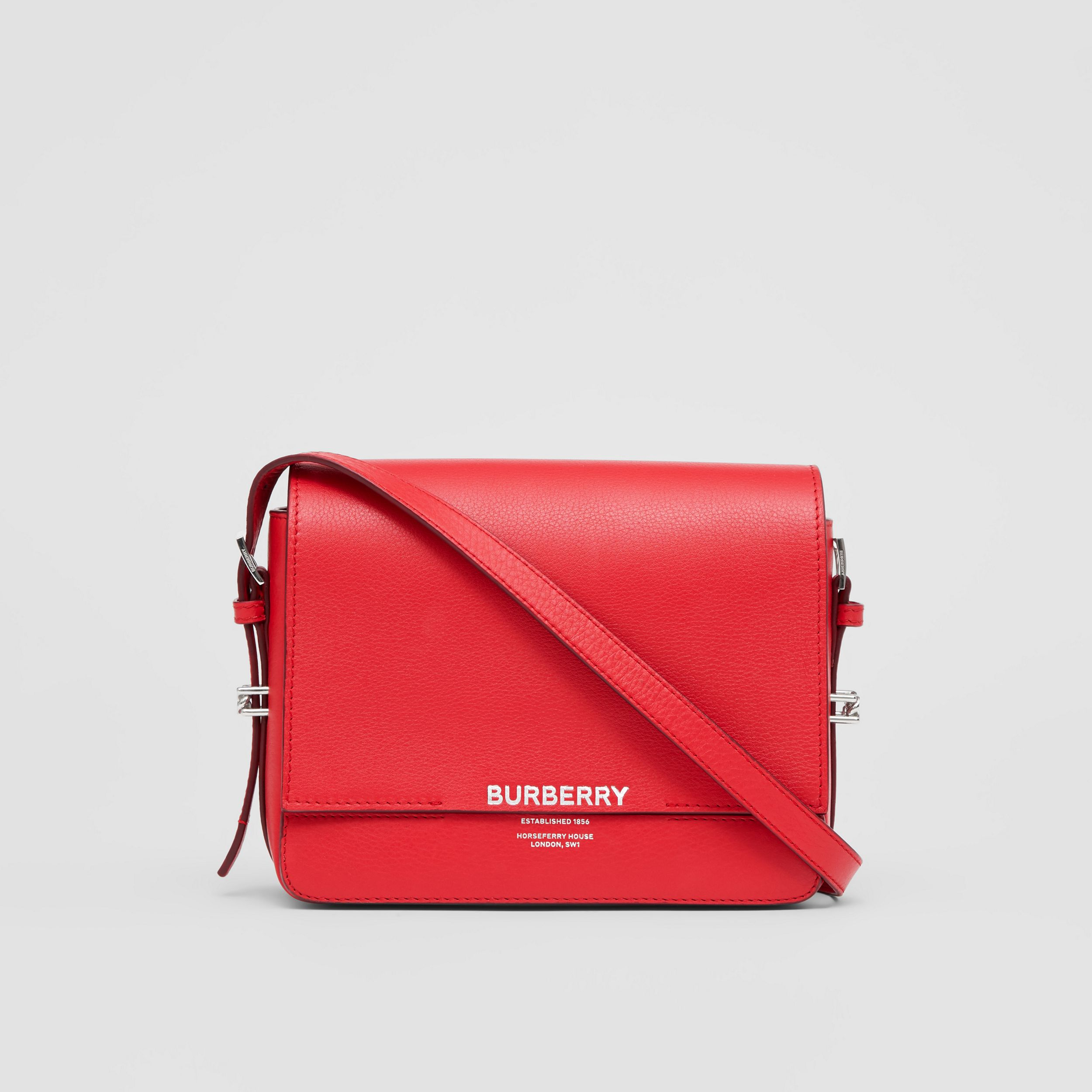 Small Leather Grace Bag in Bright Military Red - Women | Burberry - 1