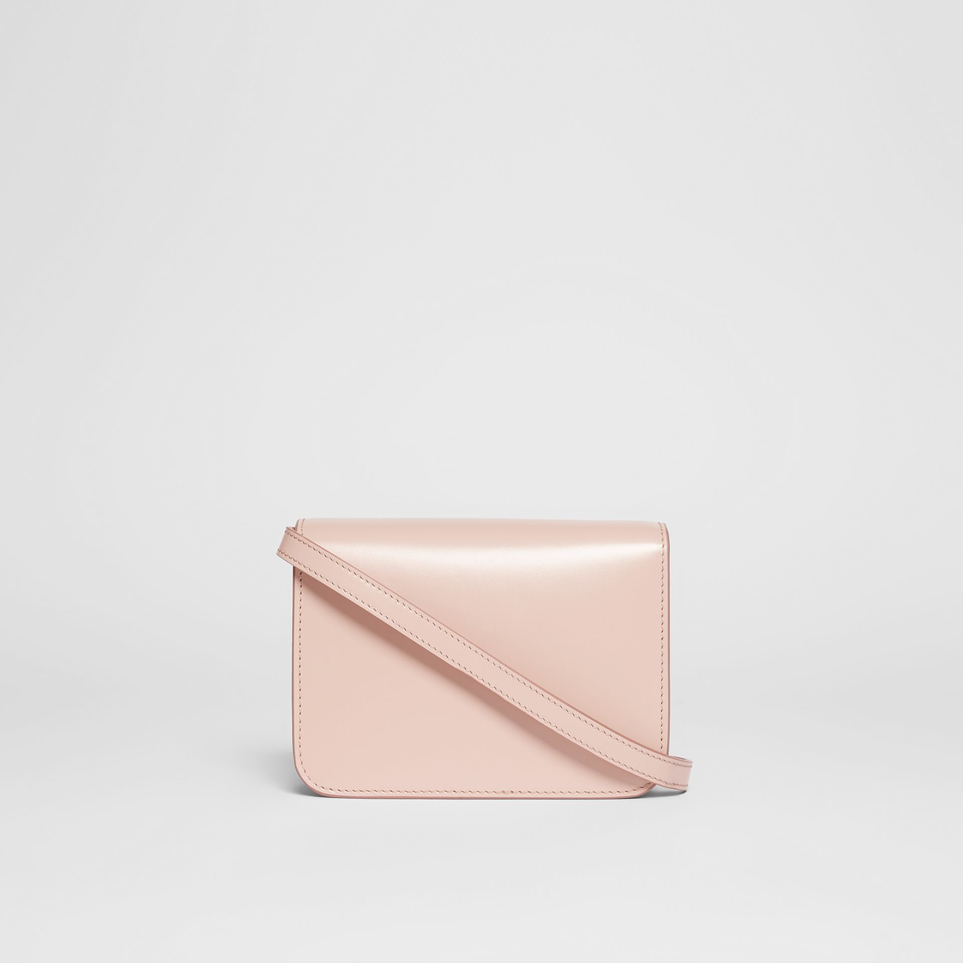 Mini Leather TB Bag in Rose Beige - Women | Burberry - gallery image 7