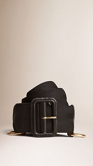 D-ring Detail Webbed Belt