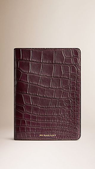 Alligator Leather iPad Mini Case