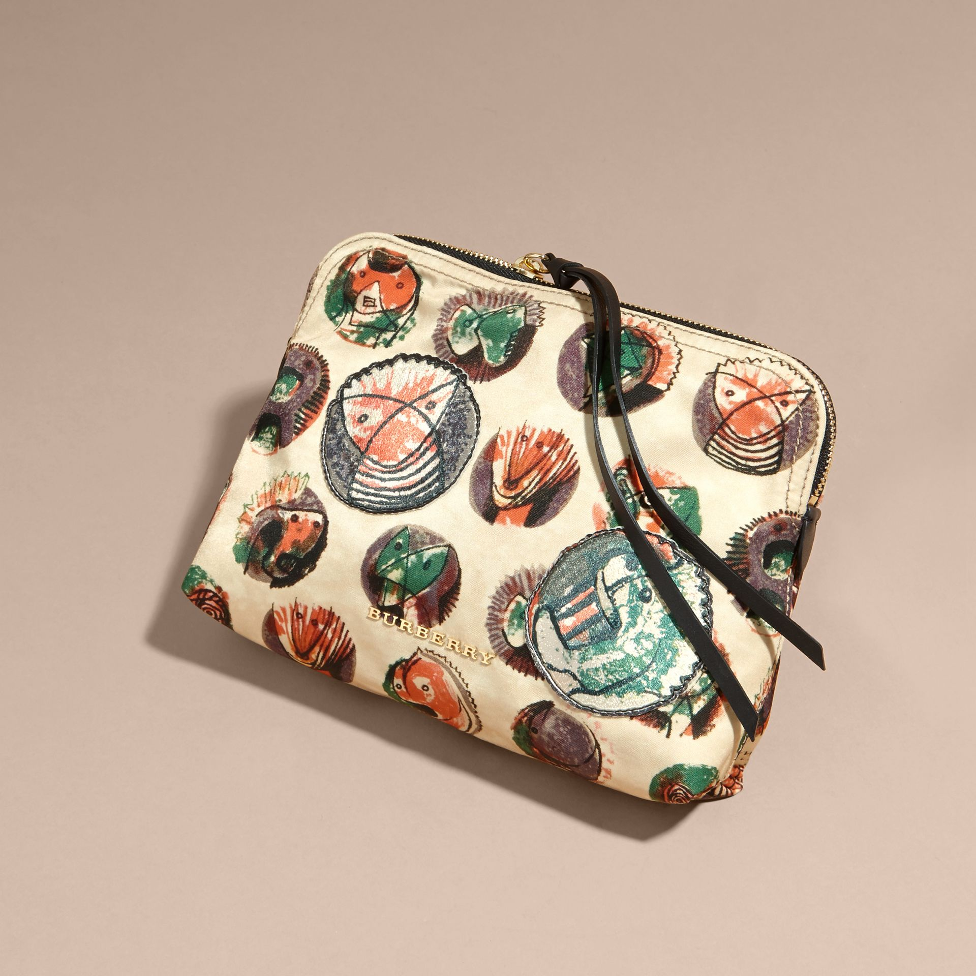 Large Zip-top Pallas Heads Print Pouch - Women | Burberry - gallery image 7