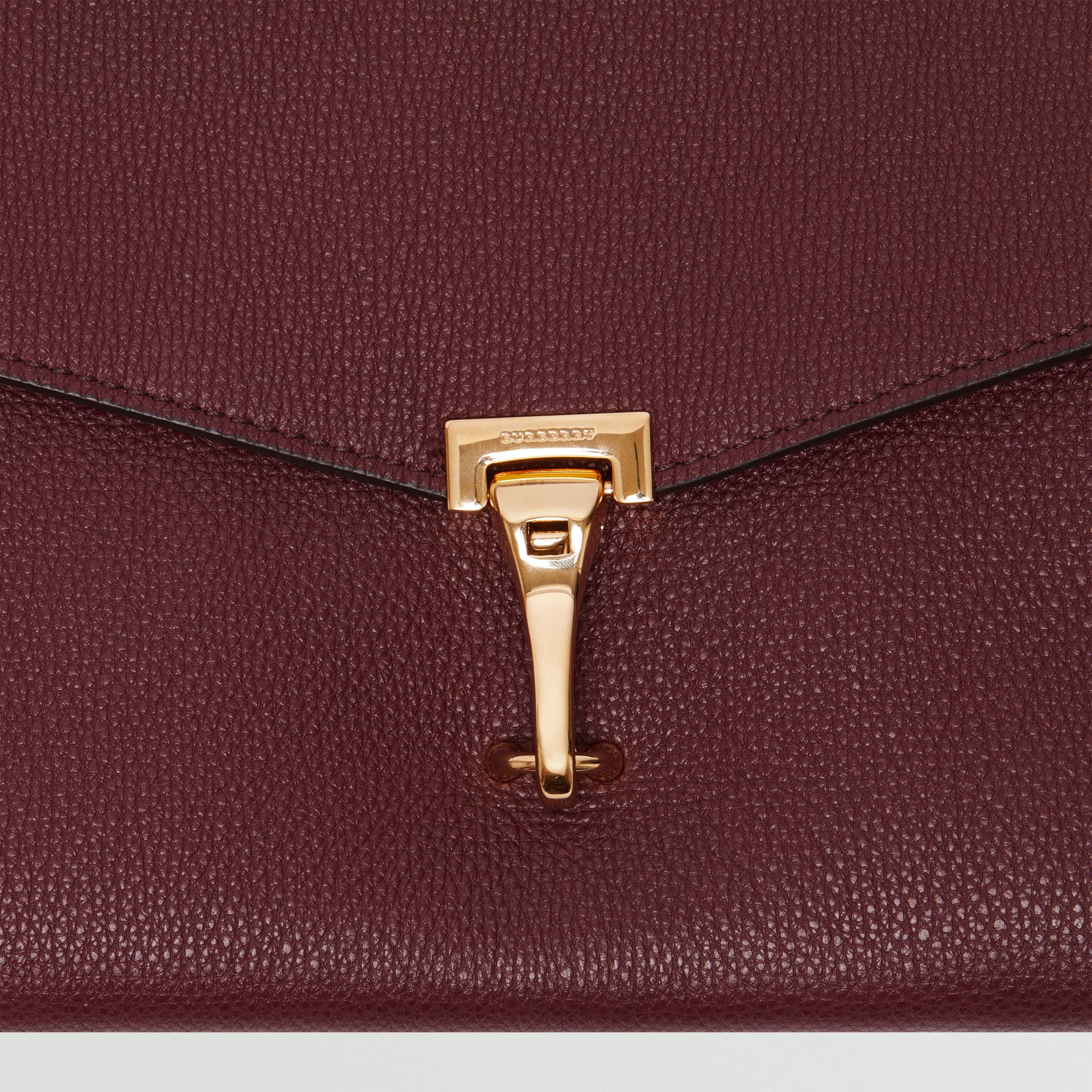 Small Leather Crossbody Bag in Mahogany Red - Women | Burberry United States - gallery image 1