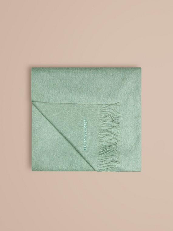 Dusty mint Cashmere Blanket Dusty Mint - cell image 3