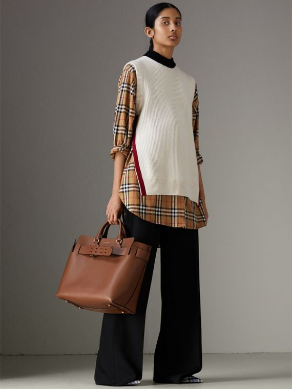 The Medium Leather Belt Bag in Tan - Women | Burberry Singapore - cell image 2
