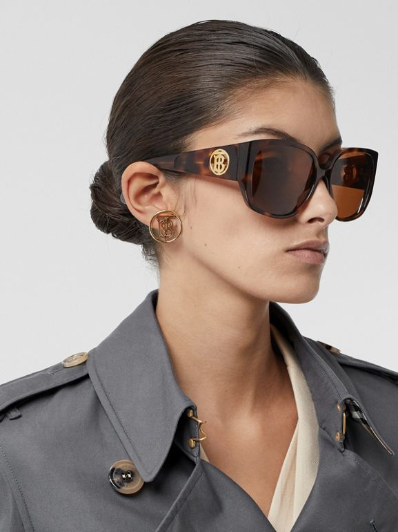 Trench Heritage The Kensington (Gris Moyen) - Femme | Burberry Canada - cell image 1