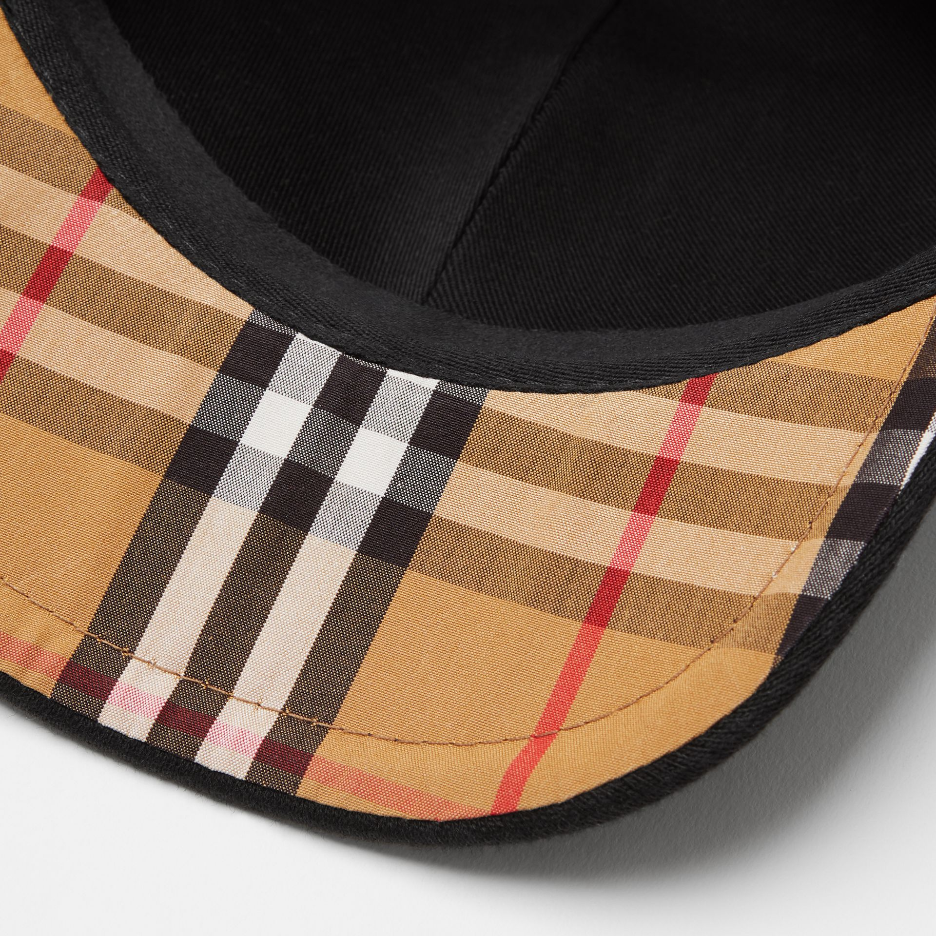 Embroidered Logo Baseball Cap in Black - Children | Burberry United Kingdom - gallery image 1