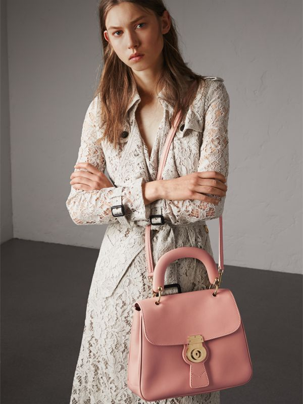 The Medium DK88 Top Handle Bag in Ash Rose - Women | Burberry - cell image 2