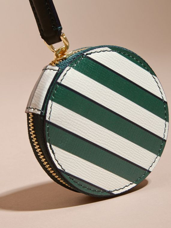 Pyjama Stripe London Leather Coin Case - cell image 2