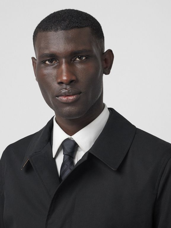 The Pimlico Heritage Car Coat in Black - Men | Burberry - cell image 1