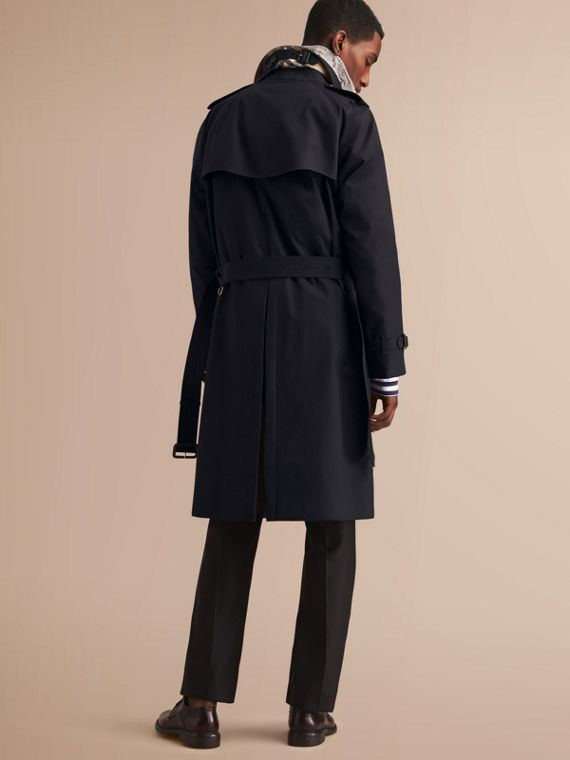 The Westminster – Long Heritage Trench Coat in Navy - Men | Burberry - cell image 2