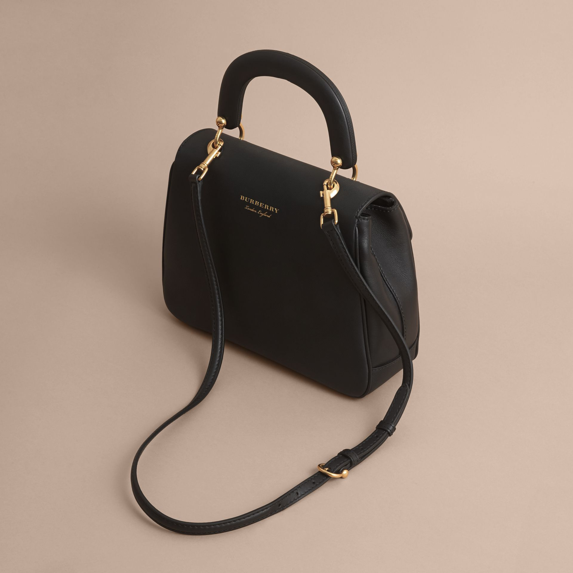The Medium DK88 Top Handle Bag Black - gallery image 5