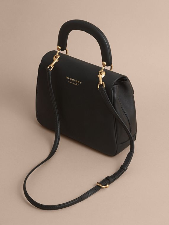 The Medium DK88 Top Handle Bag in Black - cell image 2