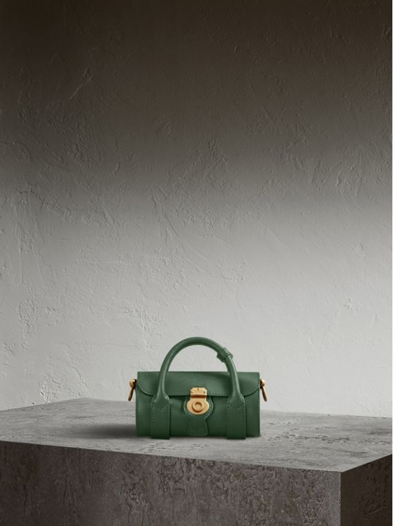 The Mini DK88 Barrel Bag Dark Forest Green