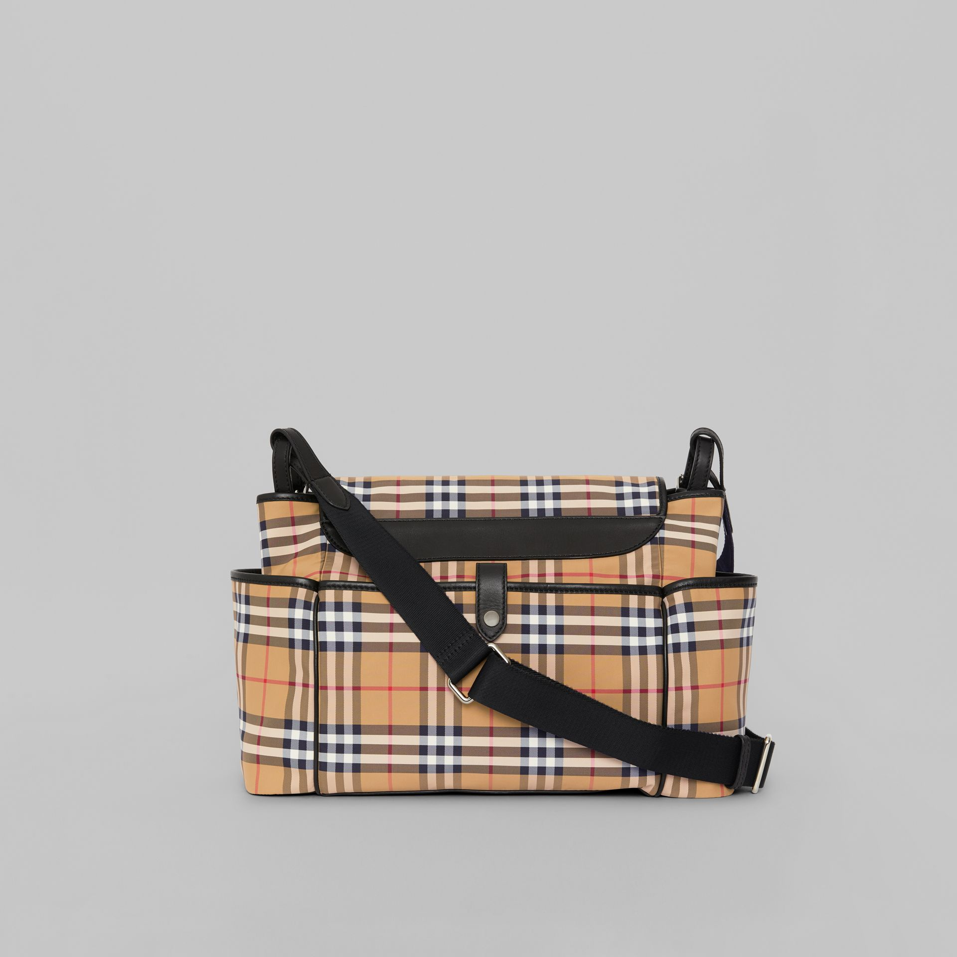 Vintage Check Baby Changing Shoulder Bag in Antique Yellow/black - Children | Burberry Australia - gallery image 5