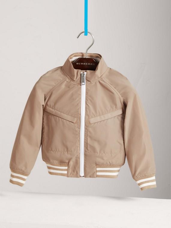 Легкая куртка «пилот» (Камень)