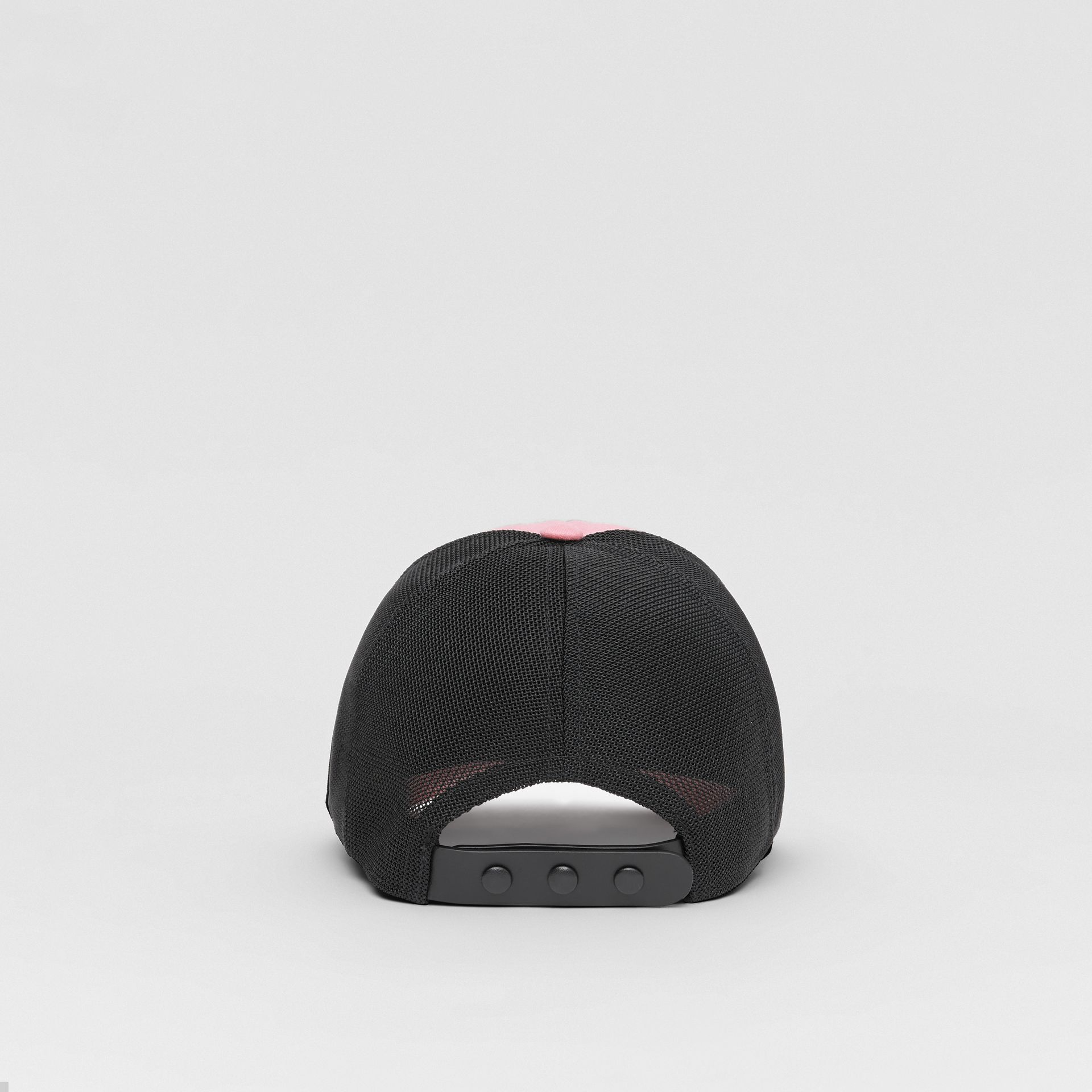 Logo Graphic Baseball Cap in Pink | Burberry Singapore - gallery image 5