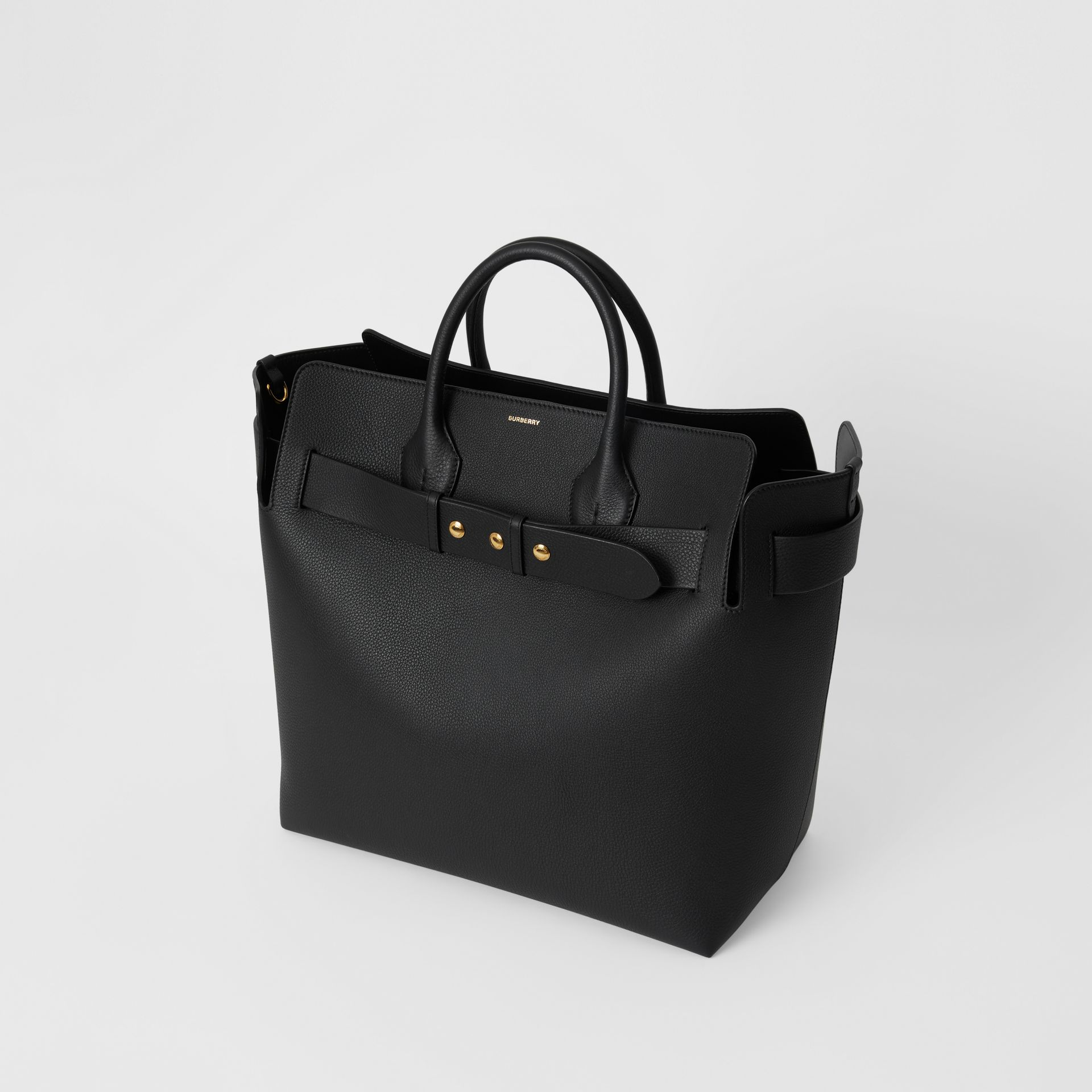 Borsa The Belt grande in pelle con tre borchie (Nero) - Donna | Burberry - immagine della galleria 4