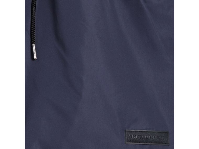 Drawcord Swim Shorts in Navy - Men | Burberry United Kingdom - cell image 1