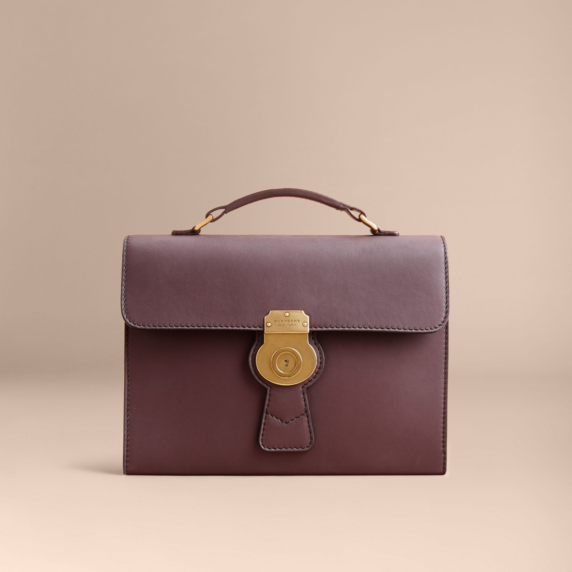 The DK88 Portfolio Case in Wine - Men | Burberry - gallery image 7