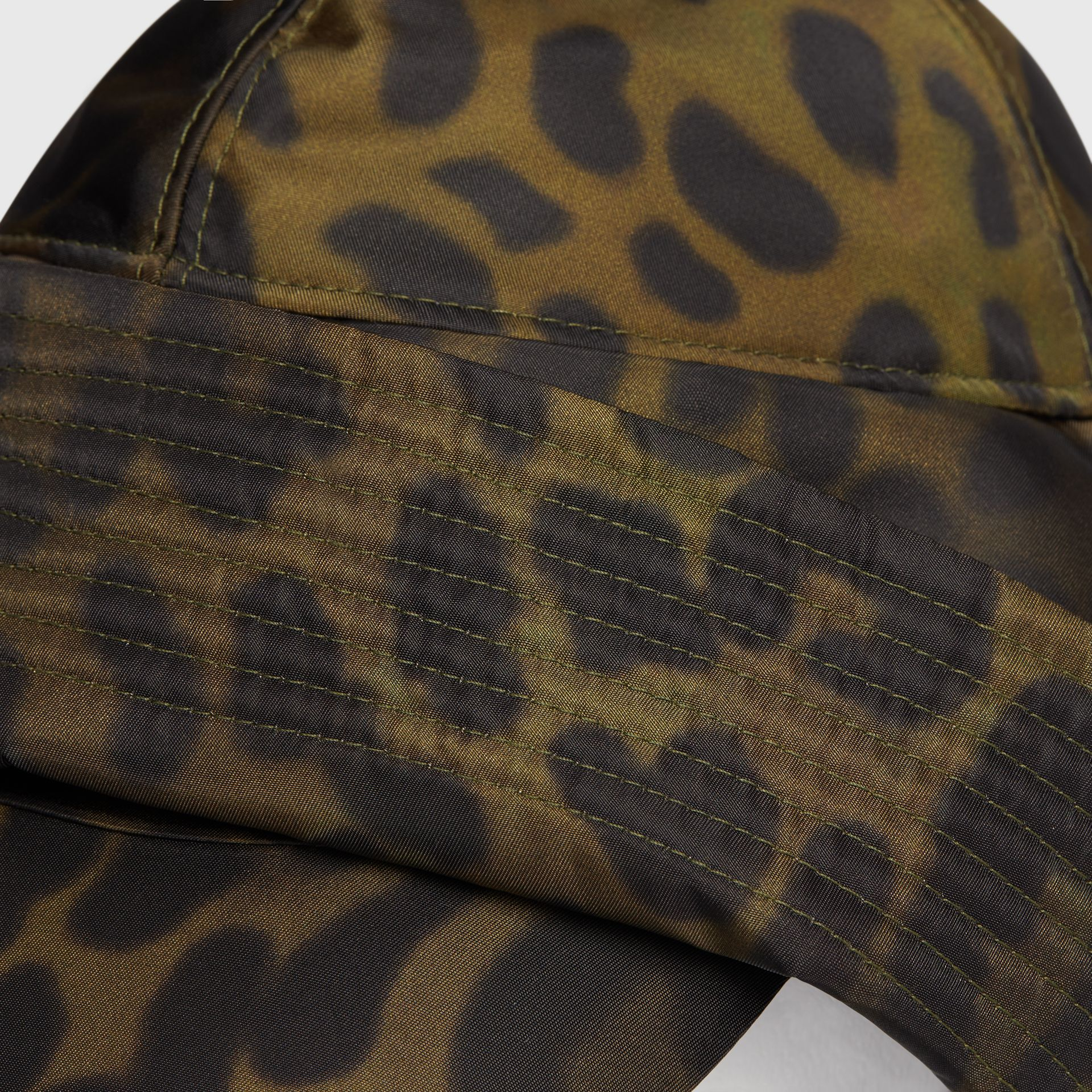 Animal Print Rain Hat in Light Green | Burberry - gallery image 1